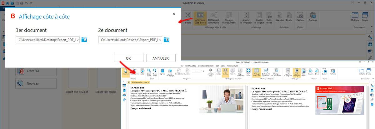 2 PDF-DATEIEN IN EINER ANSICHT ANZEIGEN