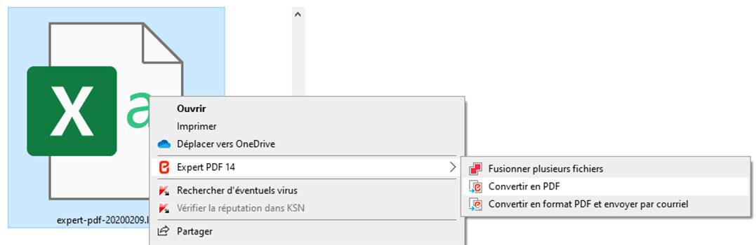 Ihre EXCEL-Tabelle ins PDF-Format zu konvertieren