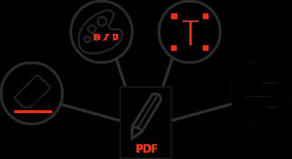 Rediger og ret nemt PDF-filer