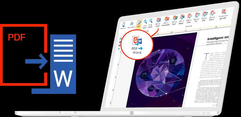 Convierta archivos PDF en archivos Word