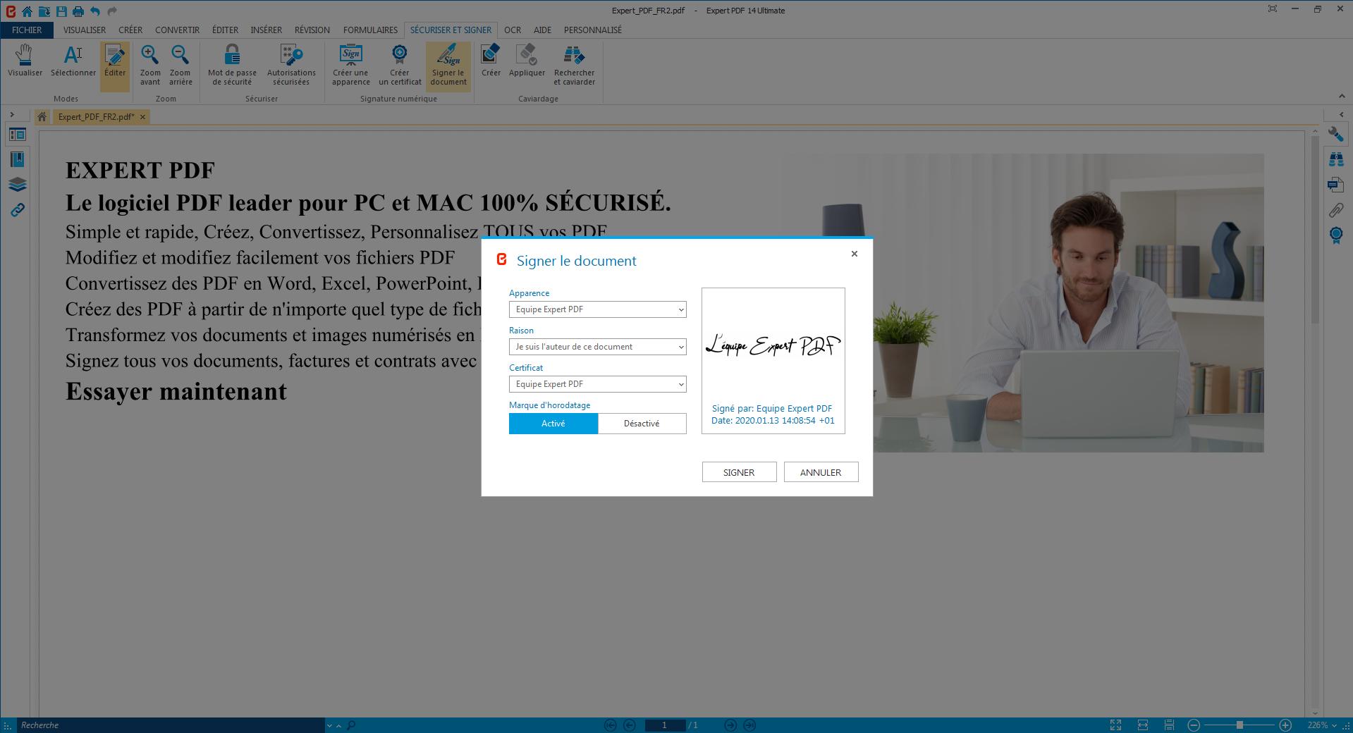 Fini le papier, signez des PDF avec des certificats de...