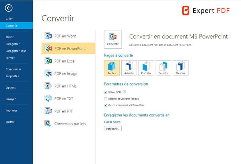Convertissez vos PDF en fichier précis et sans perte d'information : les éléments et la mise en page sont parfaitement récupérés et deviennent ainsi totalement modifiables.