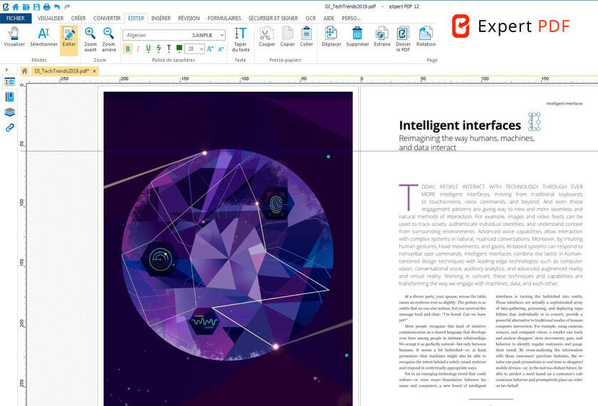 Transformez les documents et images numérisés en PDF éditables avec la technologie OCR primée I.R.I.S.Reconnaissez le texte automatiquement, y compris dans les images.