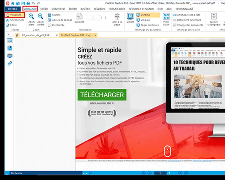 Prévisualisation des fichiers PDF avant conversion...