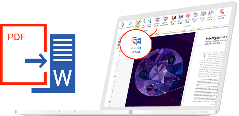 Conversione di file PDF in Word grazie a Expert PDF