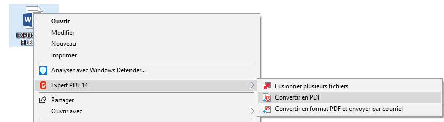 CONVERTI FILE IN PDF