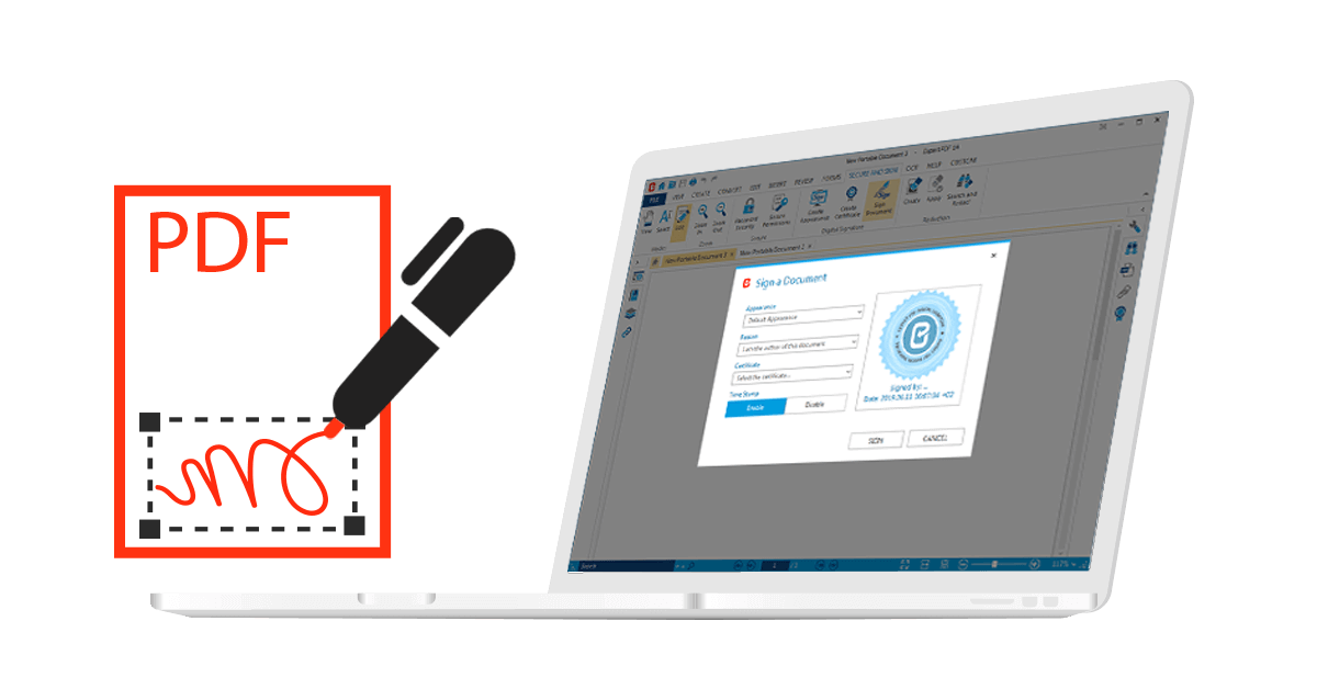 Finito il foglio! Vai alla firma digitale sicura dei tuoi documenti e contratti con Expert PDF!