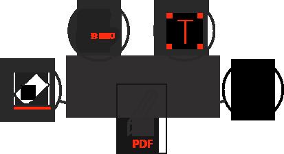 PDFファイルを簡単に編集および修正