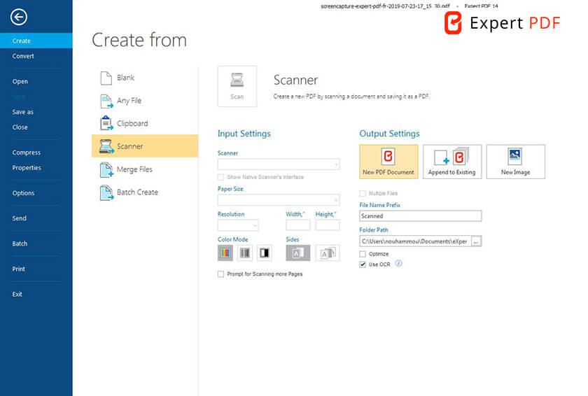 Gjør skannede dokumenter og bilder om til redigerbare PDF-filer med OCR-teknologi.Gjenkjenner teksten automatisk, inkludert i bilder.