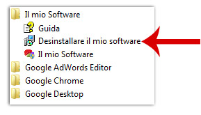 Come disinstallare facilmente il software