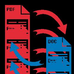 Convert PDF to Word Files