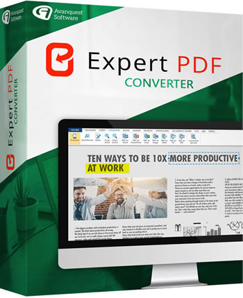 eXpert PDF Converter : create, convert or edit all your PDF
