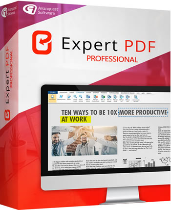 eXpert PDF Professional : the professionnal tool to create