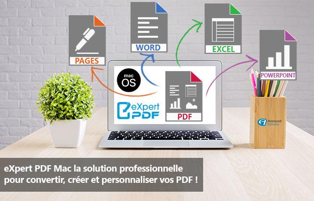 Créez, éditez, convertissez, annotez…tous vos documents PDF !